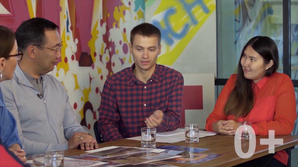 Глава Якутии взял интервью у нижегородского художника Никиты Nomerz для своего видеоблога на YouTube