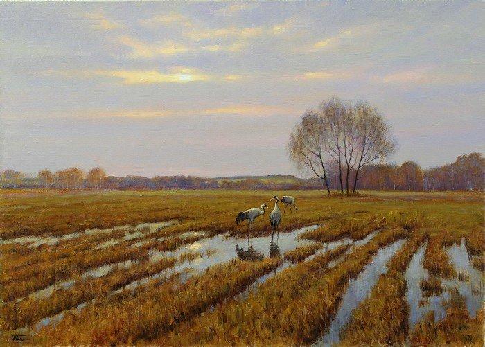 Выставка четырёх московских художников «От Темзы до Волги» откроется в Нижнем Новгороде