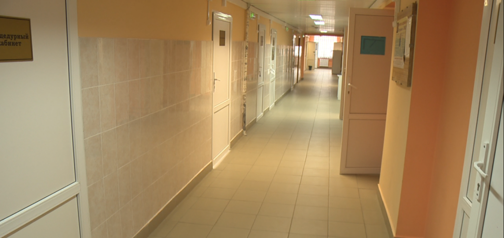 Завершился ремонт вДетской городской больнице №42 вНижнем Новгороде