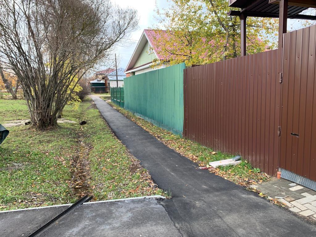 Дороги итротуары вБогородске отремонтировали попрограмме местных инициатив