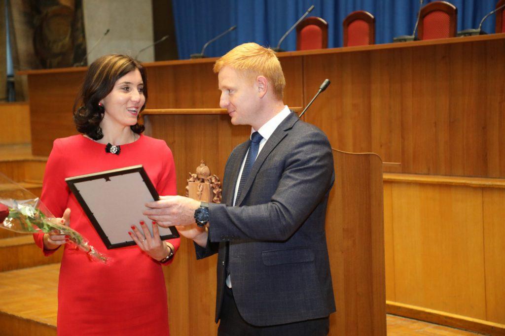 Павел Саватеев иВладимир Солдатенков наградили лучших работников дорожного хозяйства Нижегородской области