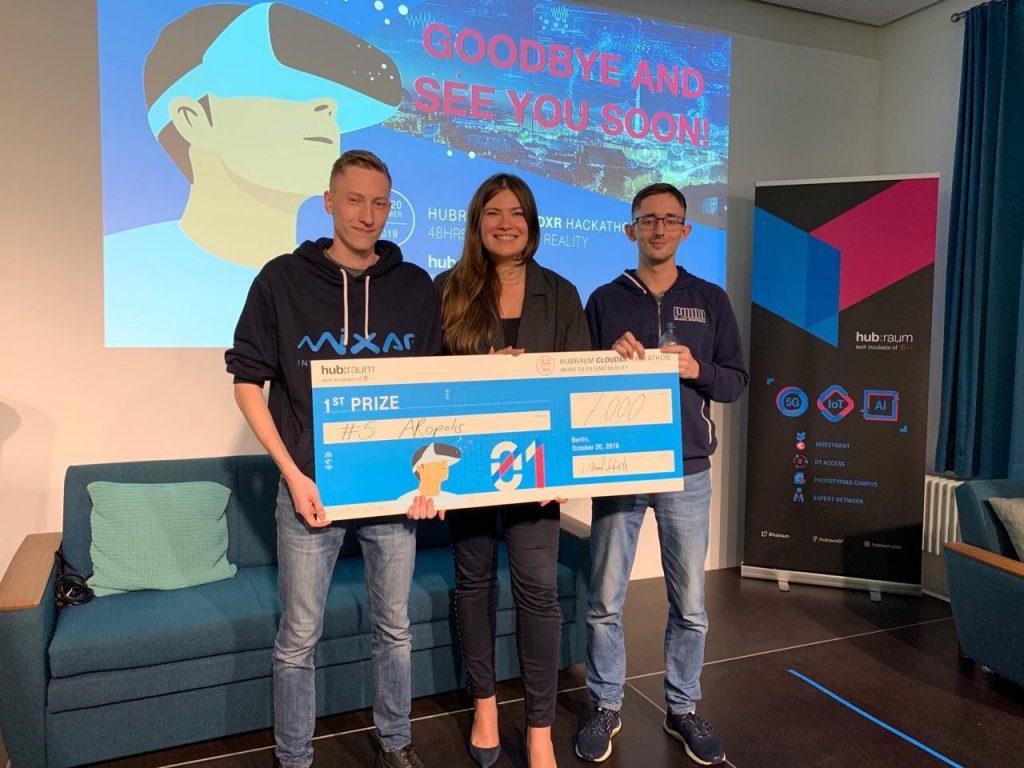 Нижегородская команда Mixar заняла первое место вхакатоне CloudXR вБерлине