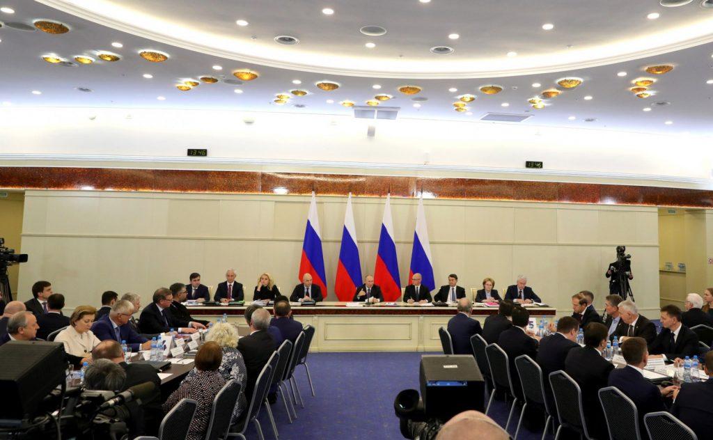 Глеб Никитин принял участие врасширенном заседании президиума Государственного советаРФ под председательством Владимира Путина