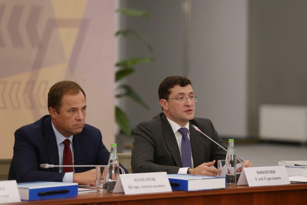 Владимир Путин поддержал предложение Глеба Никитина оновой схеме финансирования профессионального спорта