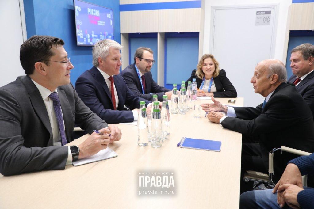 Строительство крупного бассейна вНижнем Новгороде обсудили врамках форума «Россия— спортивная держава»