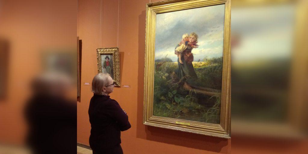 Выставка картин династии Маковских открылась в Нижегородском художественном музее