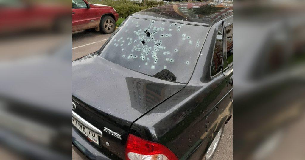 Нижегородец обстреливал автомобили из окна квартиры