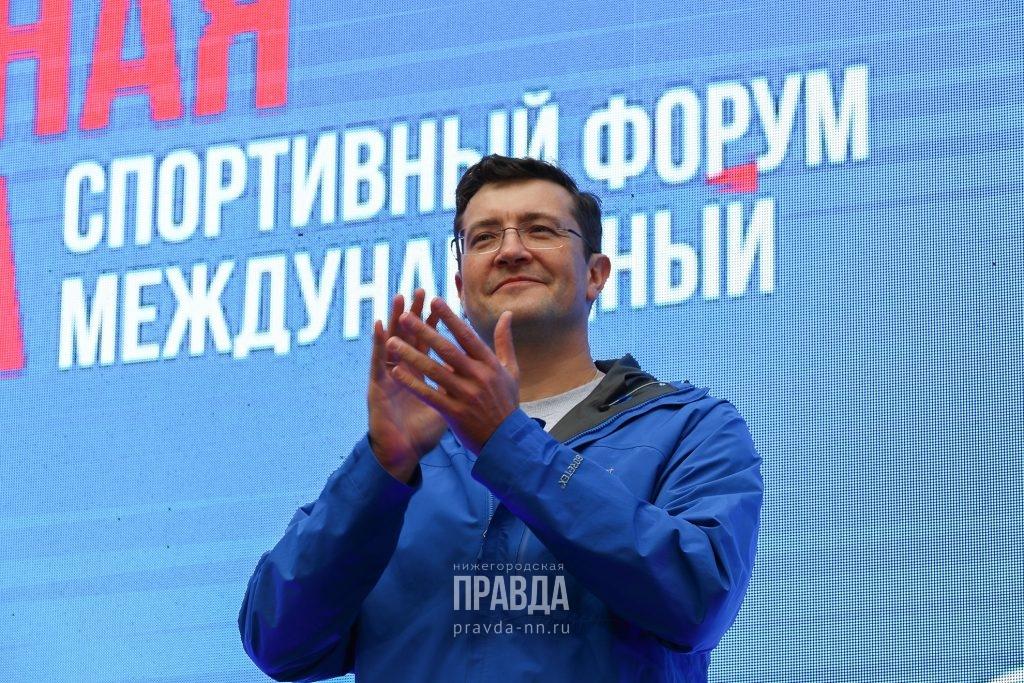Глеб Никитин поднялся в рейтинге губернаторов России