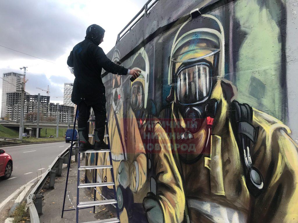 Художник и пожарный из Дзержинска прославился на всю страну