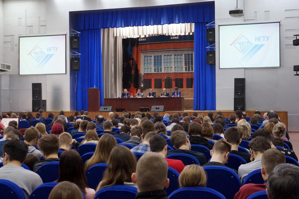 Студенческий фестиваль «Флагман» прошел в Политехе