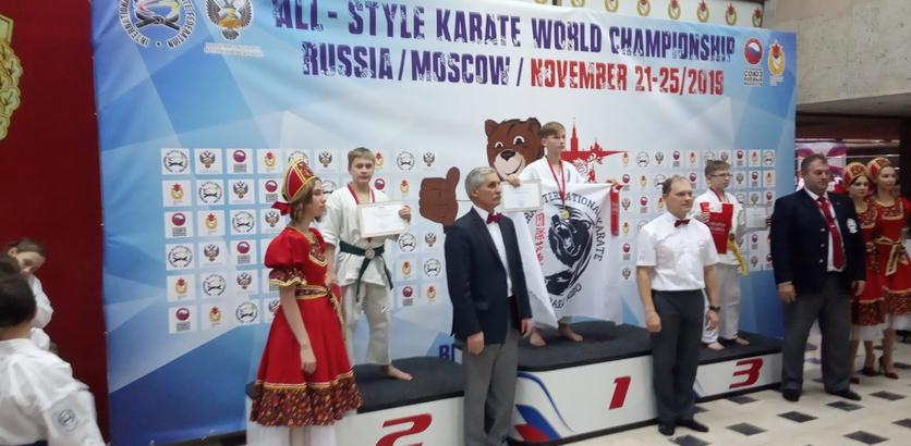 Нижегородский спортсмен Дмитрий Котов стал серебряным призёром на чемпионате мира по всестилевому каратэ