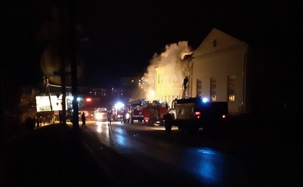 Дом культуры горел в Нижегородской области
