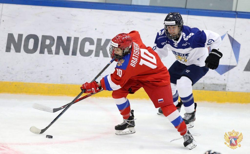 Хоккеистки «СКИФа» в составе сборной России обыграли команду Финляндии