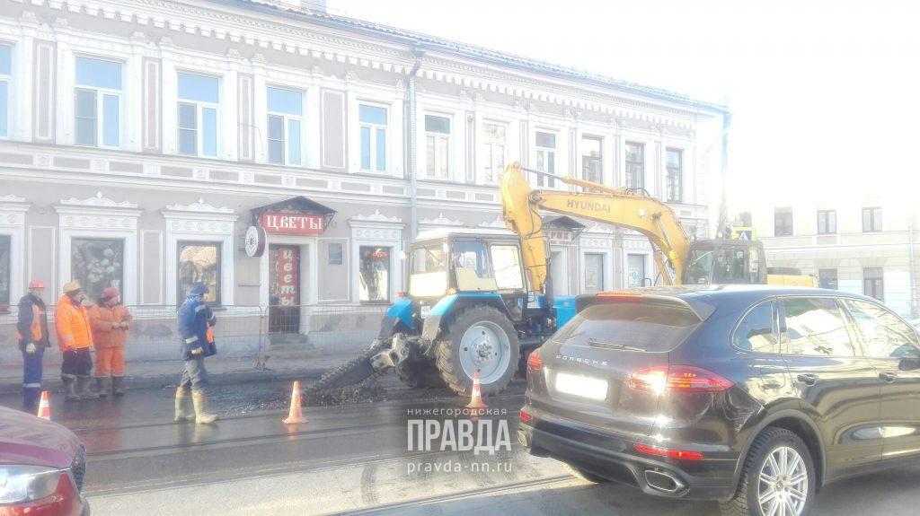 Движение трамваев от улицы Маслякова до Чёрного пруда временно приостановили