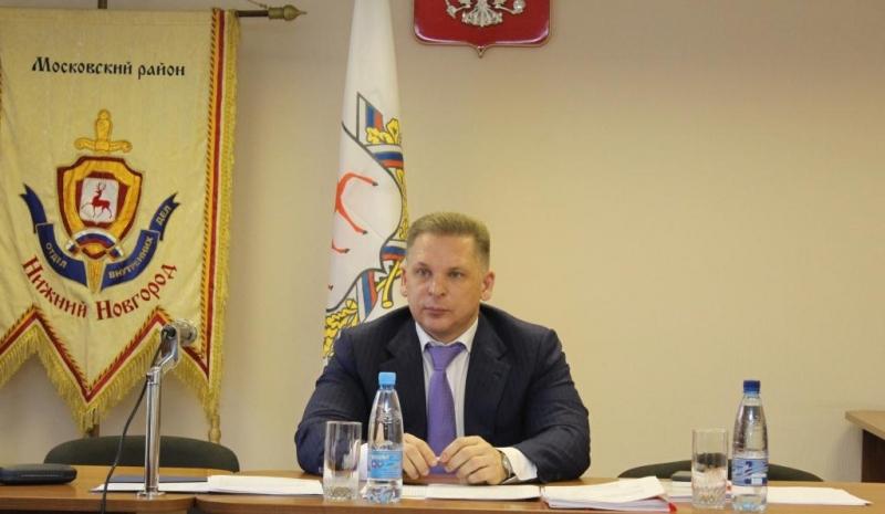 Владислав Пронин освобожден от должности начальника Управления МВД по Нижнему Новгороду