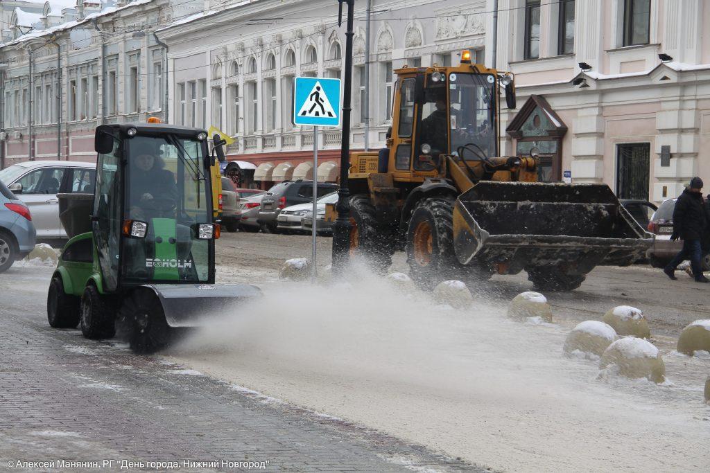 750 млн рублей выделено на содержание нижегородских дорог зимой