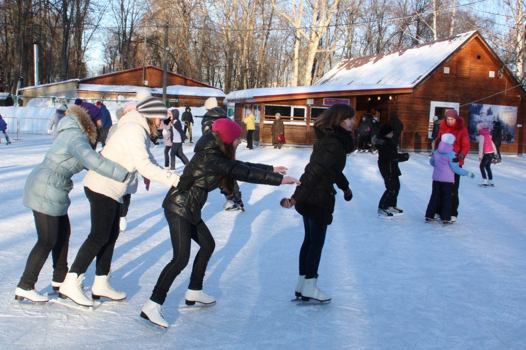 Каток «Катушка» в Парке культуры и отдыха на Автозаводе открыл новый сезон