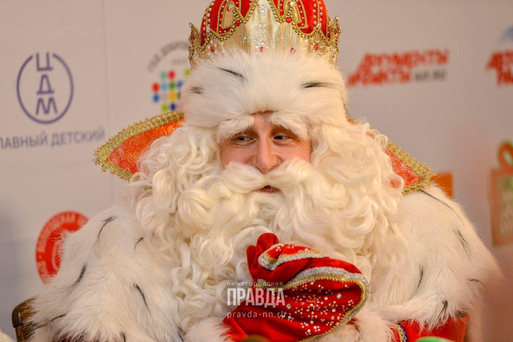 Дед Мороз из Великого Устюга приедет в Нижний Новгород