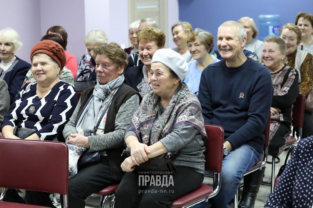 Члены клуба «День краеведа» познакомились с нижегородской журналистикой