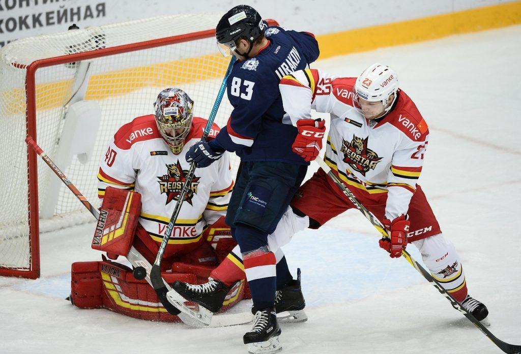 ХК «Торпедо» проиграл китайскому «Куньлуню» в матче КХЛ