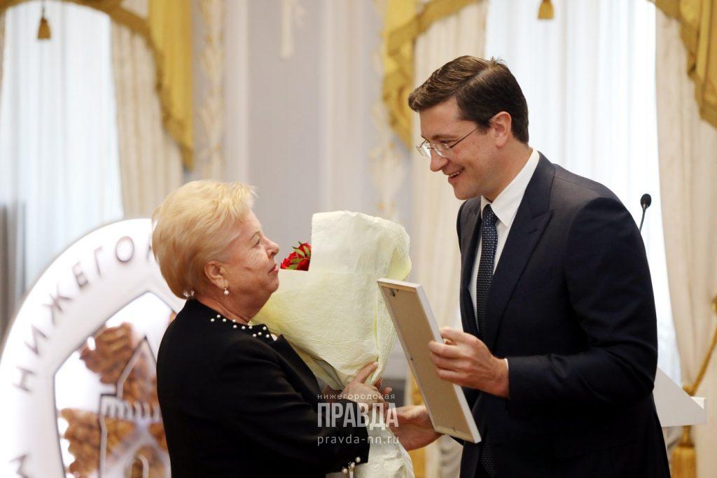 Губернатор Глеб Никитин вручил награды победителям конкурса «Нижегородская марка качества»