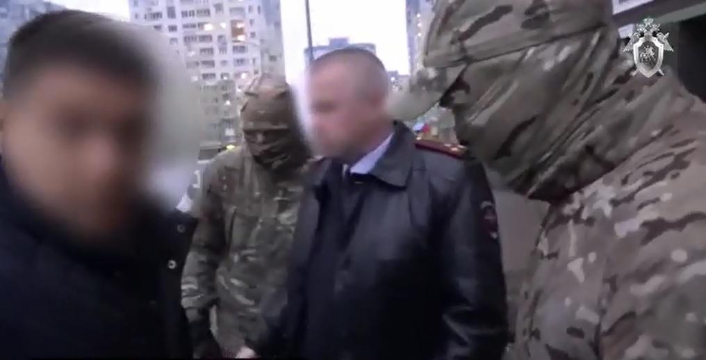 Опубликовано видео задержания полковника Сергея Бывалова