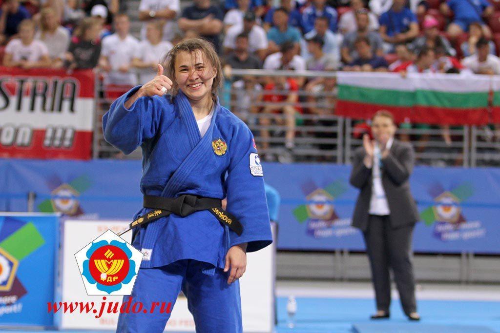 Нижегородская спортсменка завоевала бронзовую медаль на Первенстве Европы по дзюдо