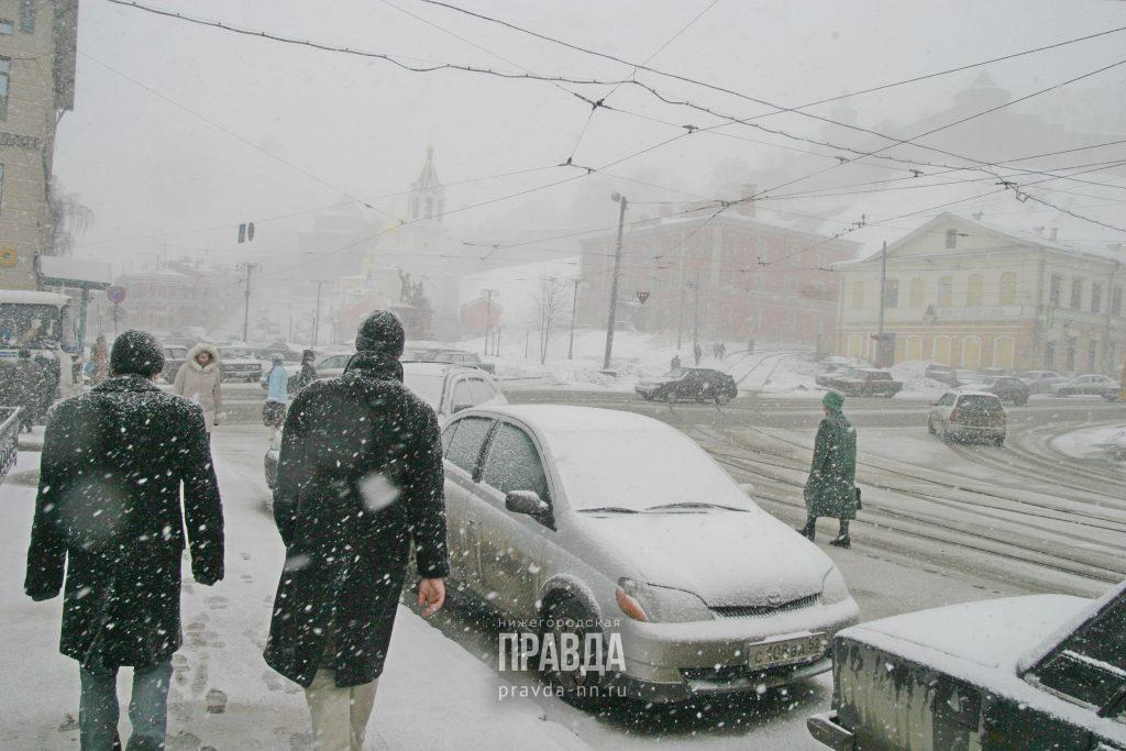 Метель и гололедица ожидаются в Нижегородской области