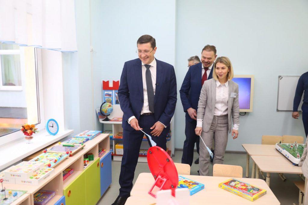 Глеб Никитин: «В2020 году наБору начнется строительство еще одного детского сада на240 мест»