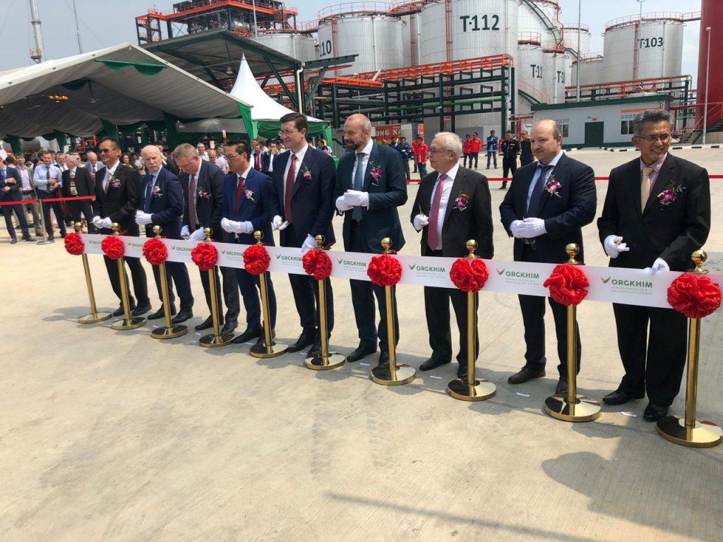 Эксперты прокомментировали открытие завода «Оргхим» в Малайзии