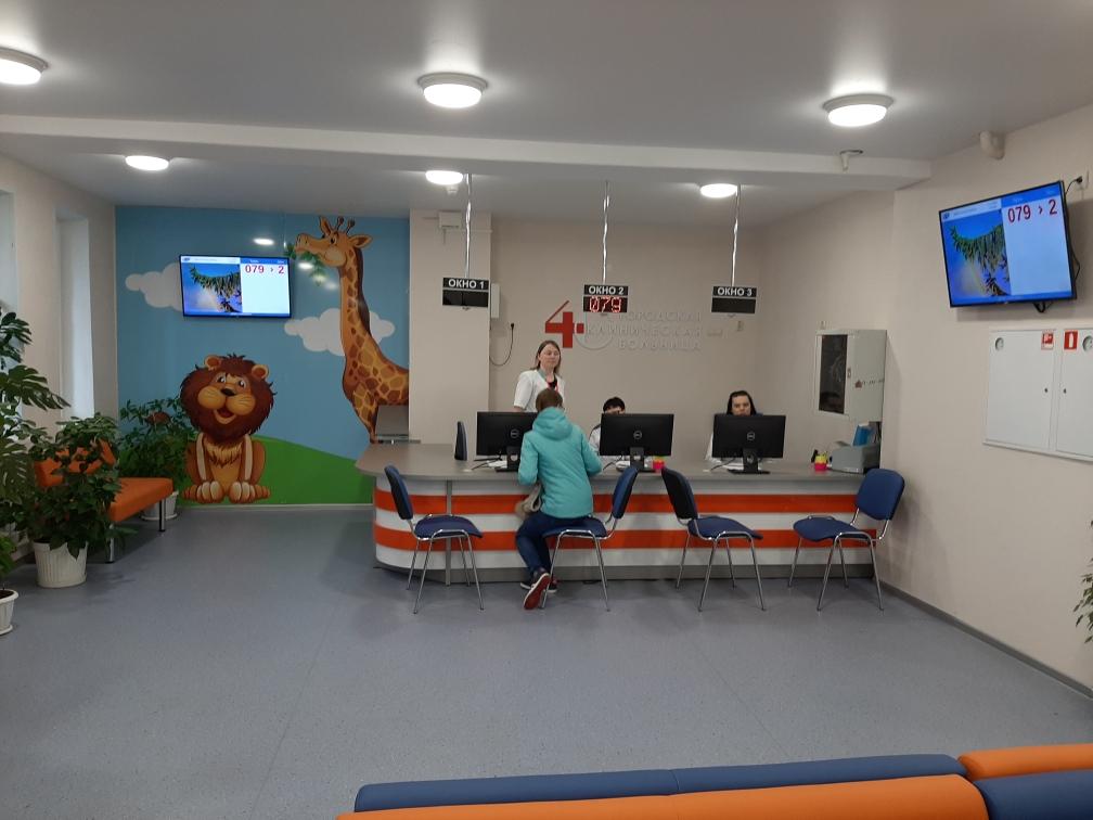 Завершен ремонт детской поликлиники городской клинической больницы №40 вНижнем Новгороде