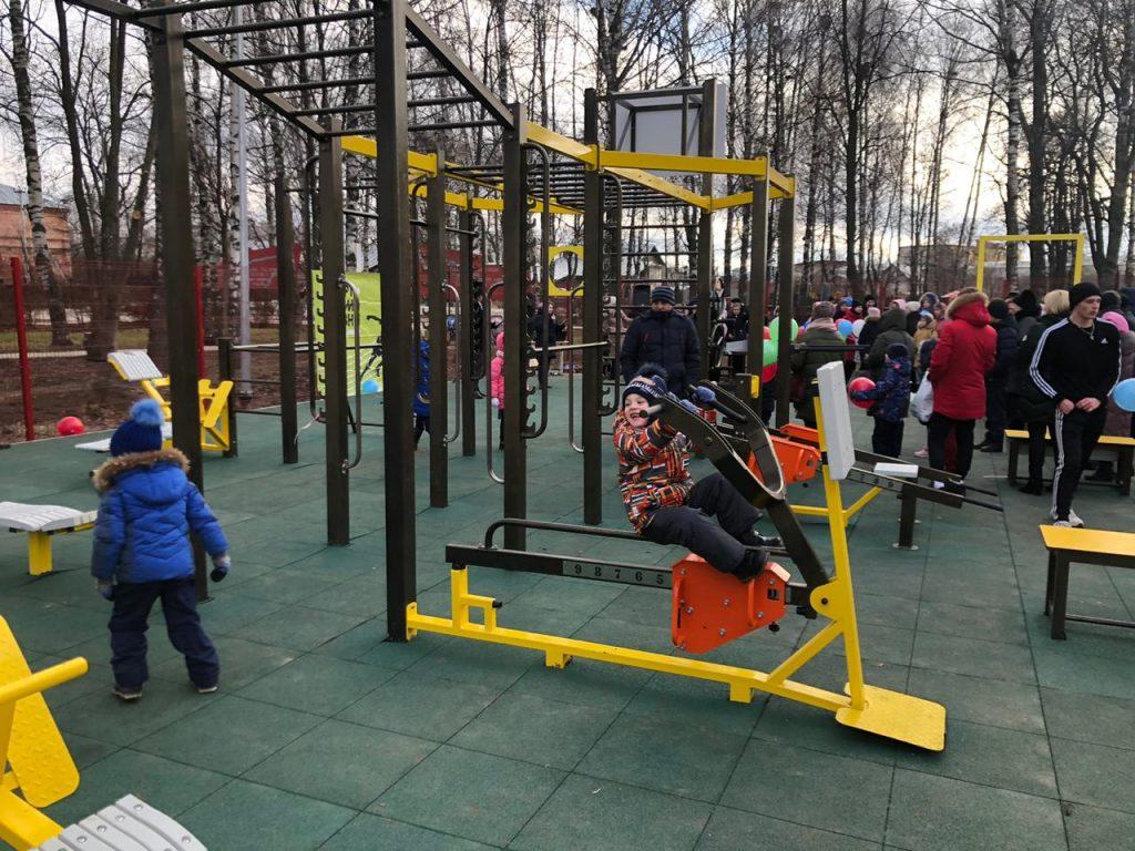 Воркаут-площадка открылась вАрдатовском районе