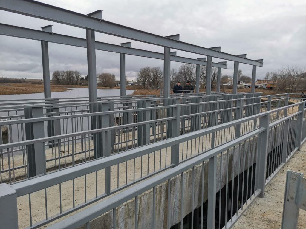 Завершился капитальный ремонт плотины нареке Сундовик вБольшемурашкинском районе