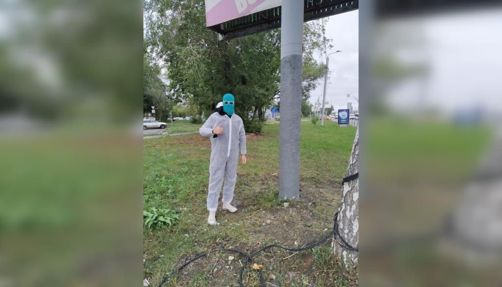 В Нижнем Новгороде объявился супергерой