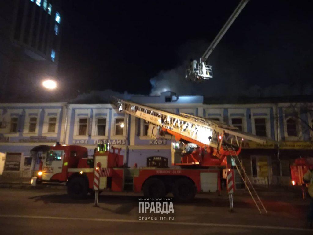 Здание хостела загорелось рядом с Московским вокзалом: из-за ЧП образовались пробки на дорогах (ОБНОВЛЕНИЕ от 23:10)