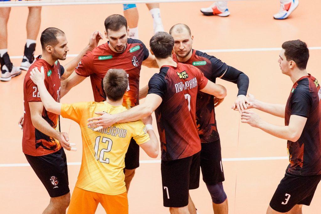 Нижегородские волейболисты проиграли «Белогорью» из Белгорода в домашнем матче суперлиги чемпионата России