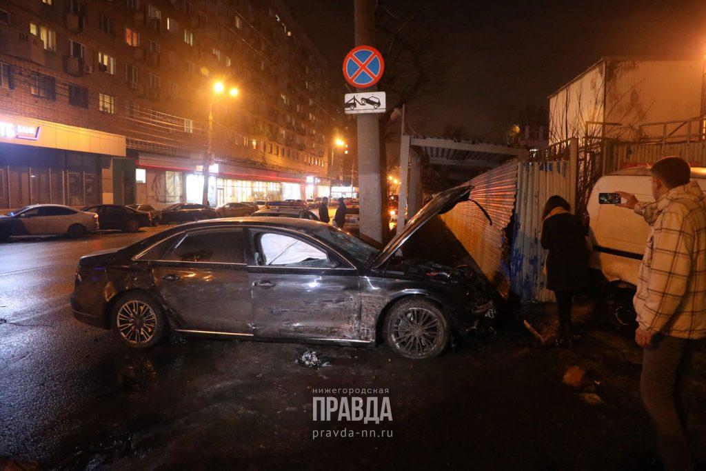 Опубликовано видео момента страшного ДТП на улице Горького