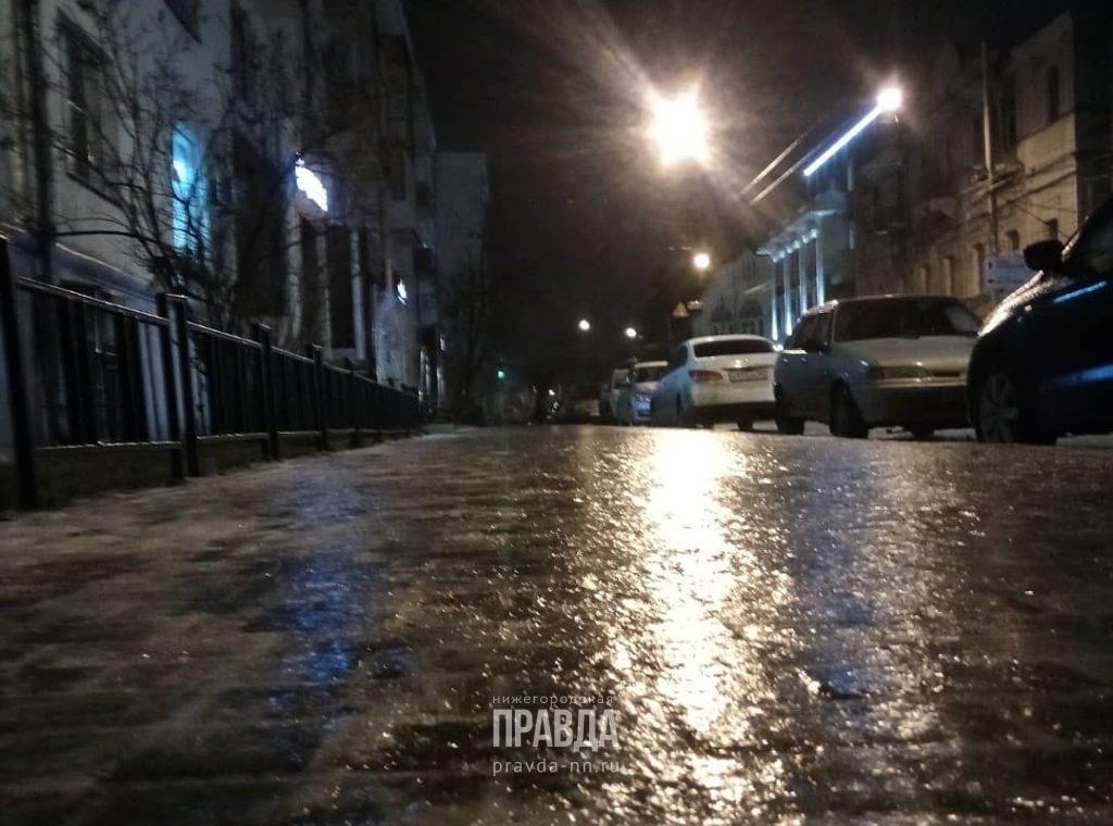 Мокрый снег и гололед ожидаются сегодня в Нижегородской области
