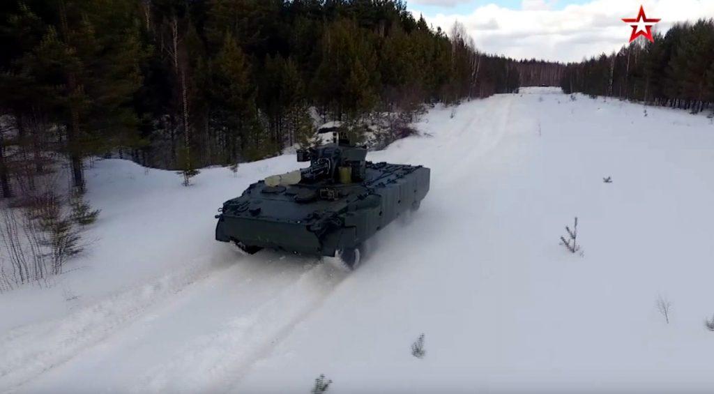Испытания новейшей боевой машины прошли в Нижнем Новгороде