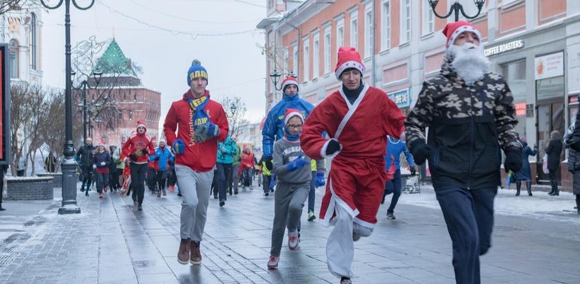 Забег Дедов Морозов пройдет в Нижнем Новгороде