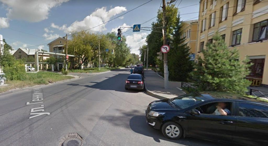 Улицы Ломоносова и Генкиной перекроют для автомобилистов