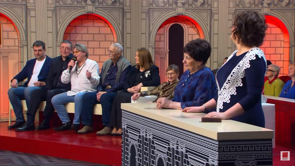 89-летняя нижегородка стала подсудимой Модного приговора на Первом канале