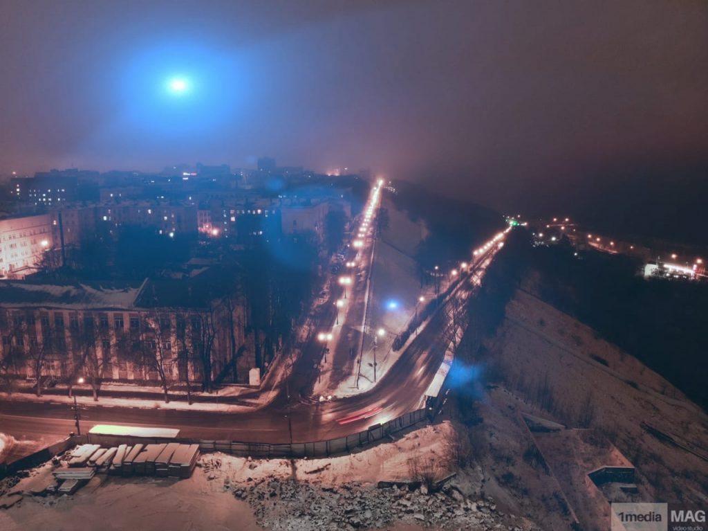 Фото дня: Необычное свечение наблюдали нижегородцы вечером в пятницу