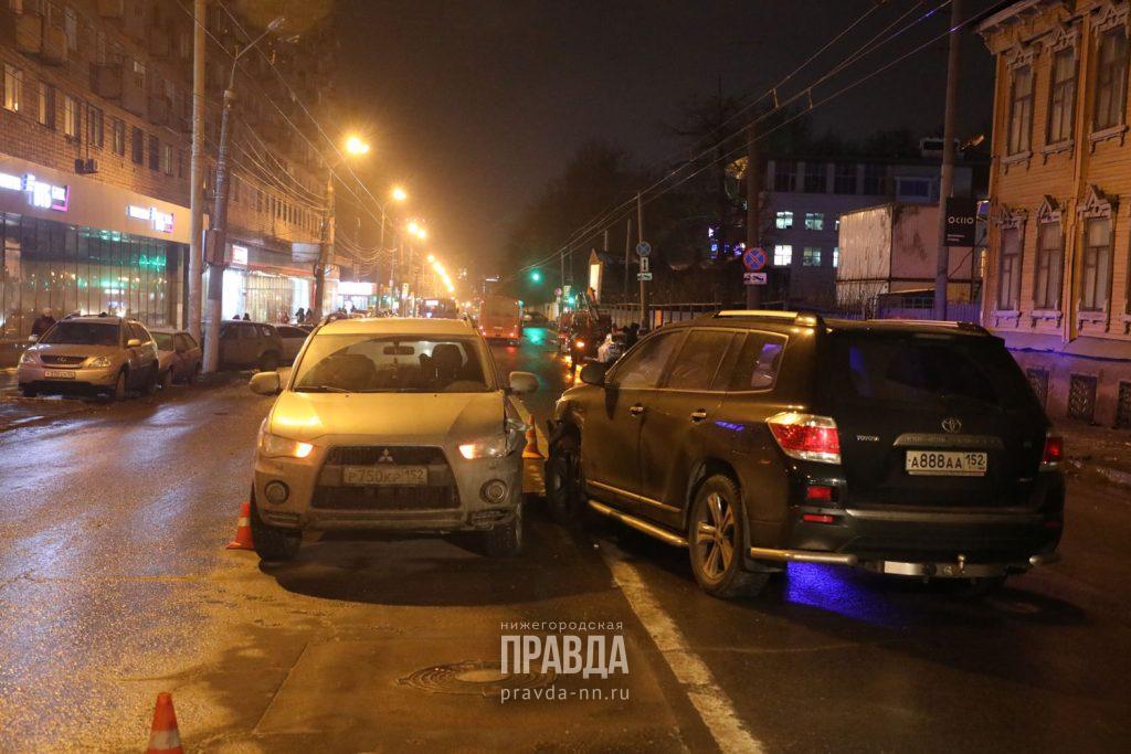 Девять человек пострадали в ДТП в центре Нижнего Новгорода