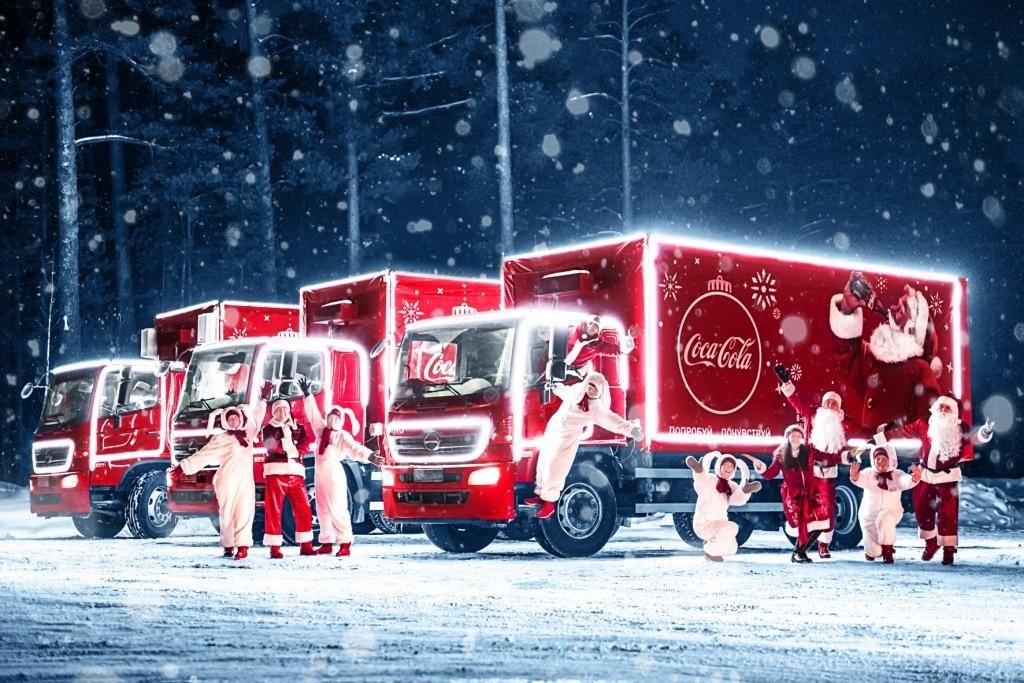 «Рождественский Караван» Coca-Cola приедет в Нижний Новгород