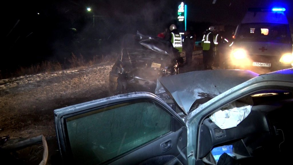 Три человека пострадали в крупном ДТП под Нижнем Новгородом