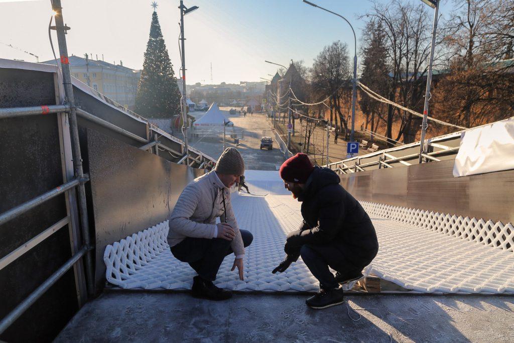 На изготовление горок для «Горьковской ёлки» потратят более 2 млн рублей
