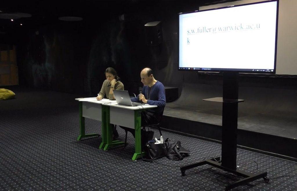 «Революция и эволюция»: профессор из Великобритании Стив Фуллер обсудил с нижегородскими учёными влияние науки на общество