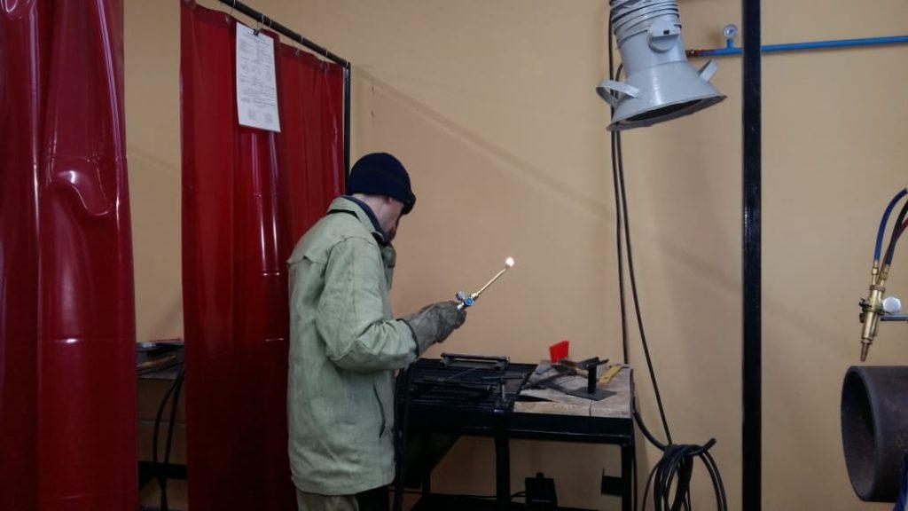 Лучшим электрогазосварщиком Нижегородской области стал Александр Ушаков