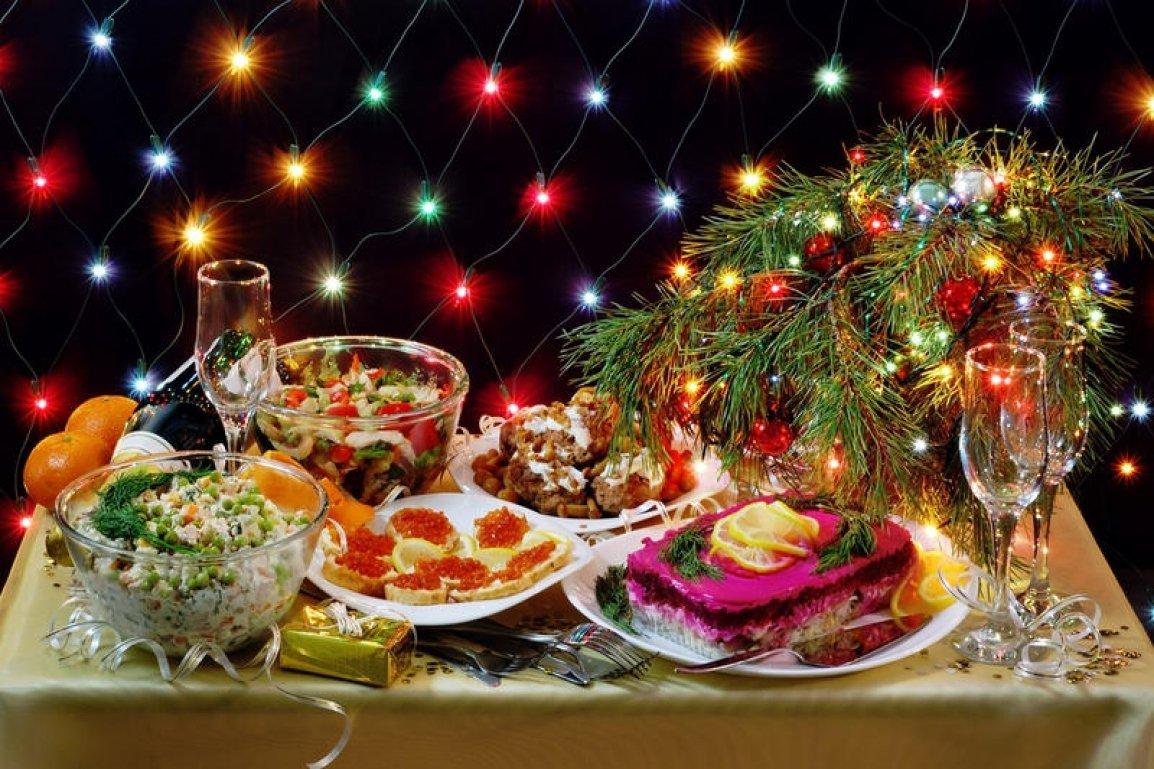 Оформление праздничного стола фото блюд очень рада